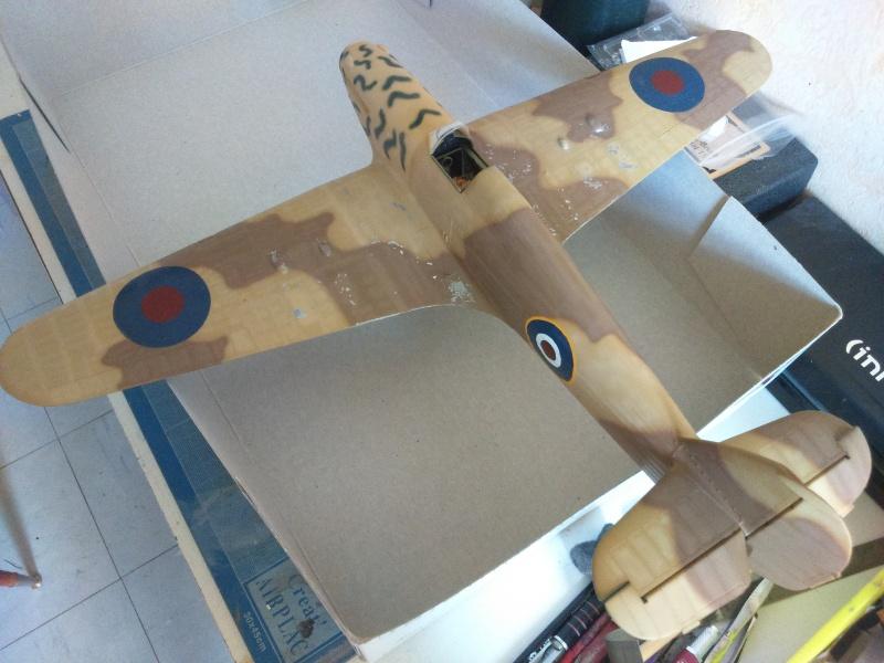 Hawker Hurricane Mk2 - Kit FLY au 1/32  - Page 3 Dsc_0094