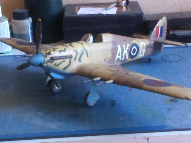 Hawker Hurricane Mk2 - Kit FLY au 1/32  - Page 4 Dsc_0122