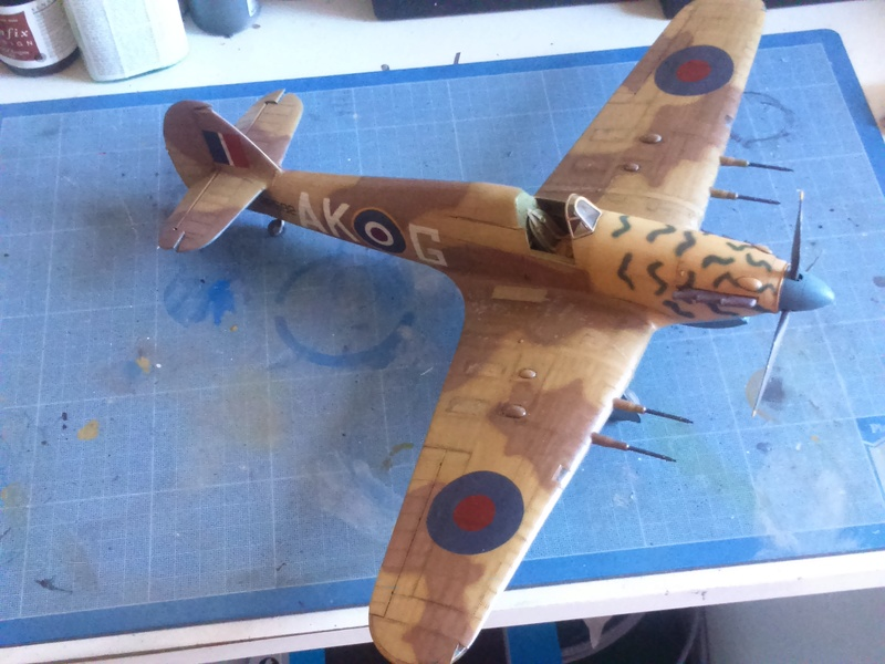 Hawker Hurricane Mk2 - Kit FLY au 1/32  - Page 4 Dsc_0128