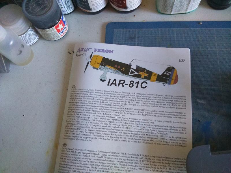 IAR 81 C ( Azur 1/32.).......début des travaux Dsc_0176