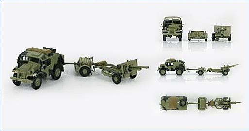 British 25pdr. field gun & Quad Gun Tractor (Canadian Ford F.G.T)  (Tamiya 1/35 réf. 35044) - Page 2 72hg4010
