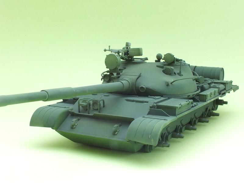 T62A (Tamiya 35108) - 1/35 - décoration Israélienne (Capture d'un tank syrien) montage TERMINÉ  Dscf0014