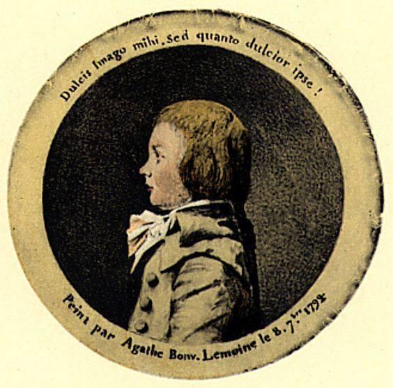 Portrait de Louis-Charles, Duc de Normandie, Louis XVII Charle10