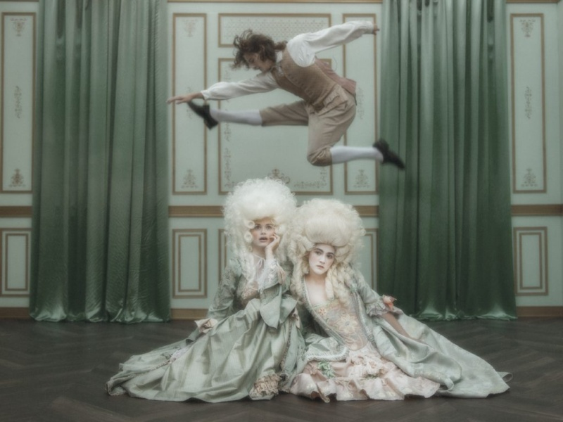 "Marie-Antoinette dans la série ""Decadence"" Jumpa810"