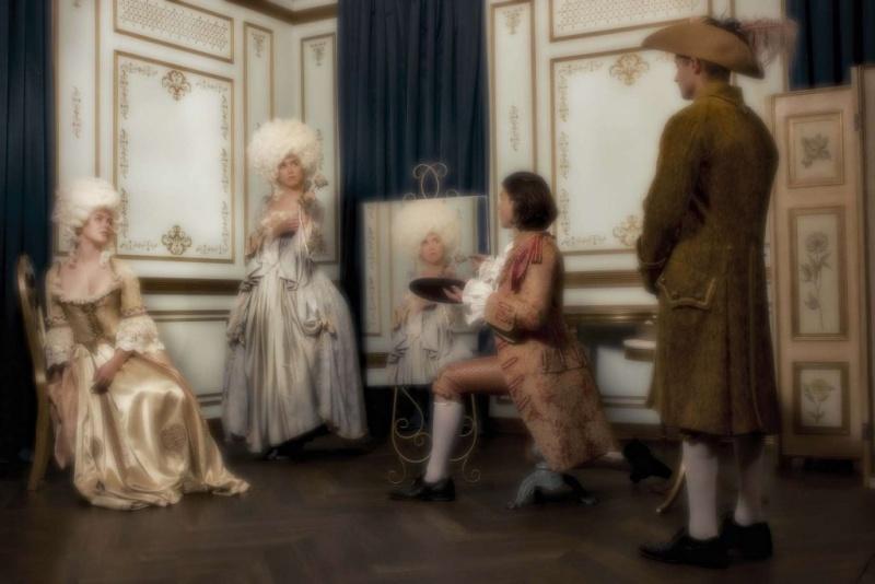 """Marie-Antoinette dans la série """"Decadence"""" Painti10"""