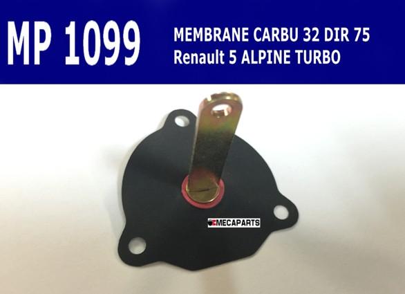 pochette joints carbu alpine turbo Mp109910
