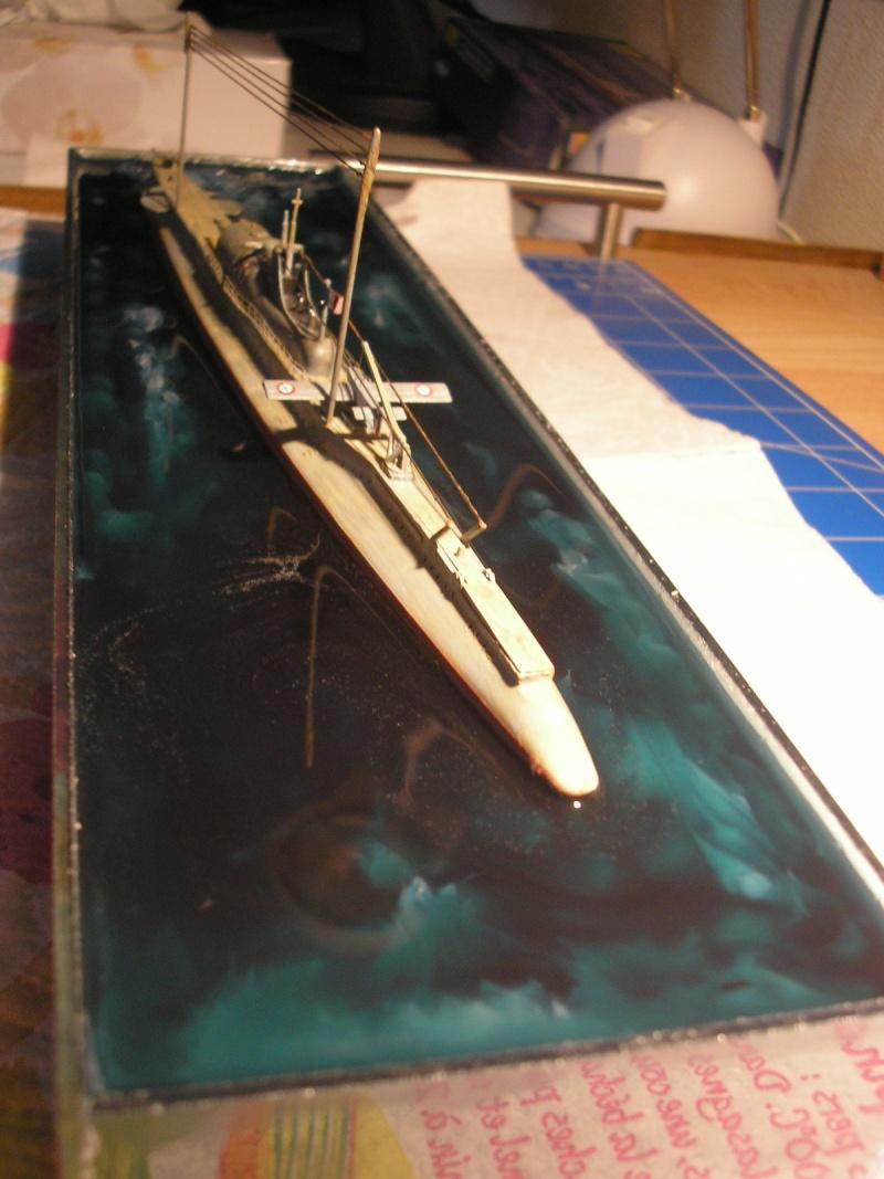 Sous marin SURCOUF HELLER au 400ème Dioram24