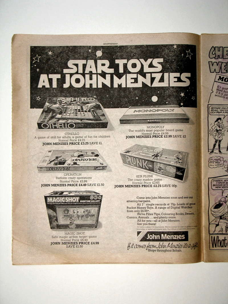SW ADVERTISING FROM COMICS & MAGAZINES - Page 4 00210