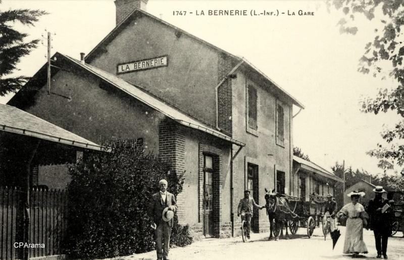 La gare de la Bernerie, entièrement rénovée 13832010