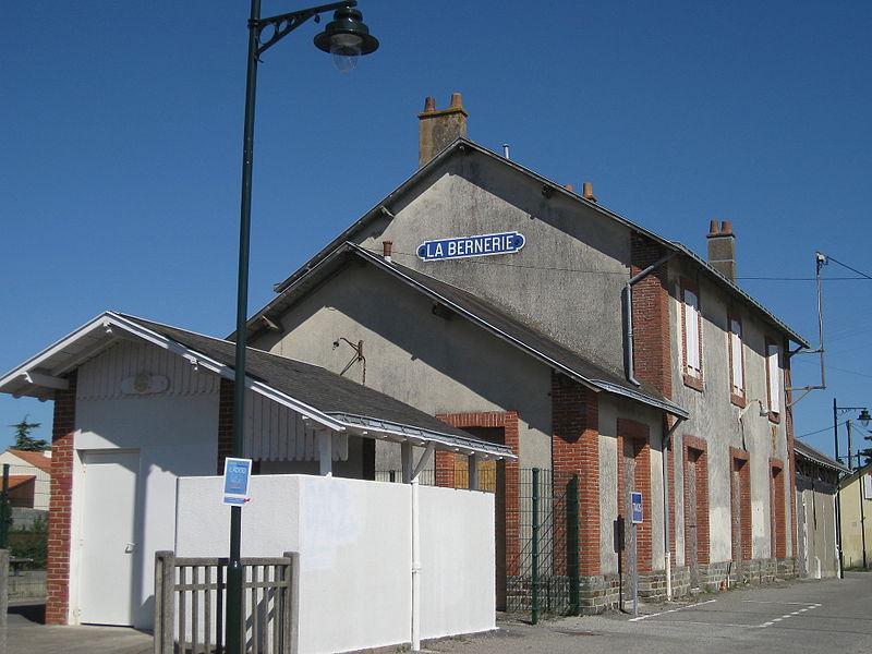 La gare de la Bernerie, entièrement rénovée 800px-10