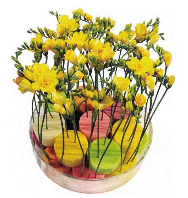 Как работать с оазисом для цветов? Oazis-10