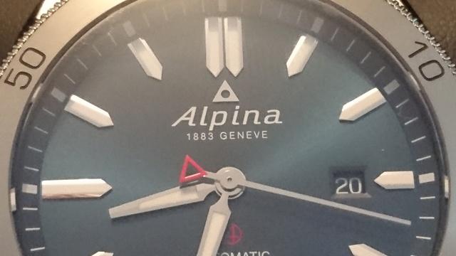 Alpina - Présentation Alpina Alpiner automatic Dsc_0335