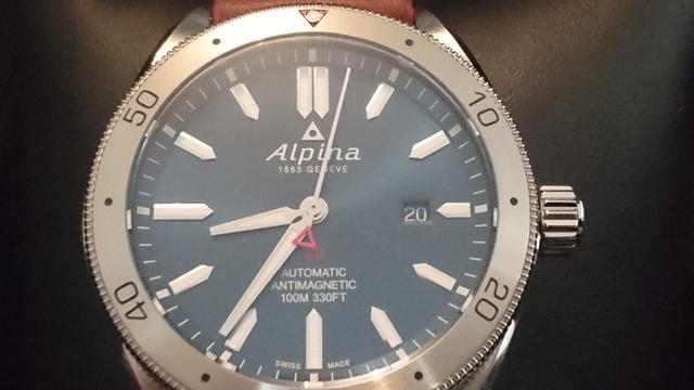 Alpina - Présentation Alpina Alpiner automatic Dsc_0338