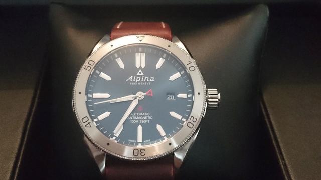 Alpina - Présentation Alpina Alpiner automatic Dsc_0339