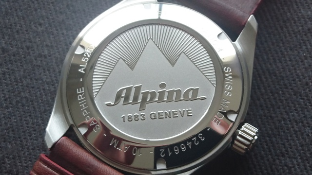 Alpina - Présentation Alpina Alpiner automatic Dsc_0342