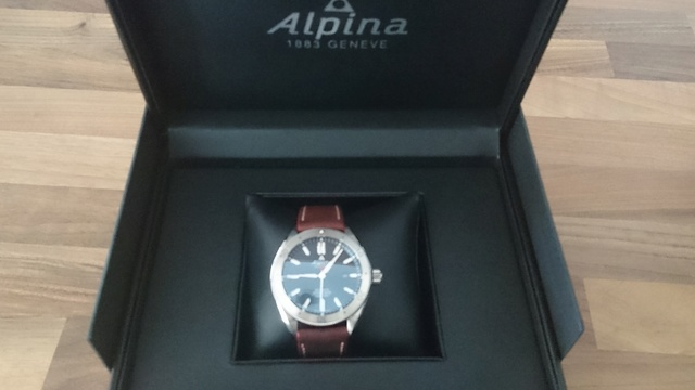 Alpina - Présentation Alpina Alpiner automatic Dsc_0345