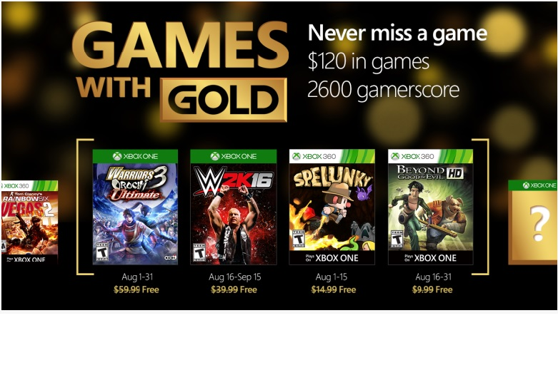 Games With Gold Gwgaug11