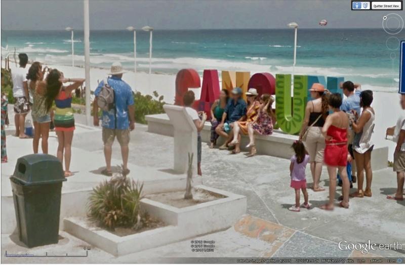 """Défi collectif : à la recherche de la descendance du célèbre panneau """"Hollywood"""" - Page 2 Cancun13"""