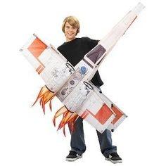 FREE Star wars 3D Kites - Xwing, Tie Fighter & Millenium Falcon Swkite16
