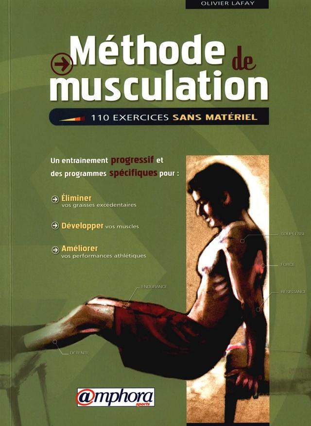 Méthode de musculation - 110 exercices sans matériel (Olivier LAFAY) Mythod10