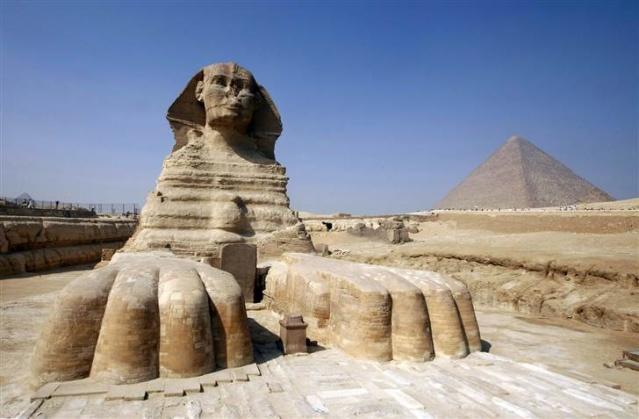 Le sphinx de gizeh et l'ère du lion 01310