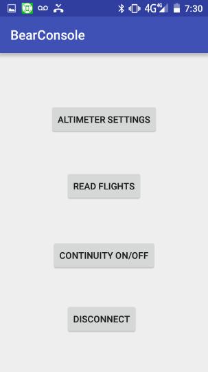 Altimètre Altimulti Screen10