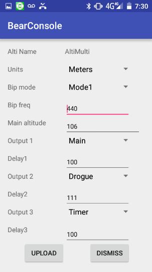 Altimètre Altimulti Screen11