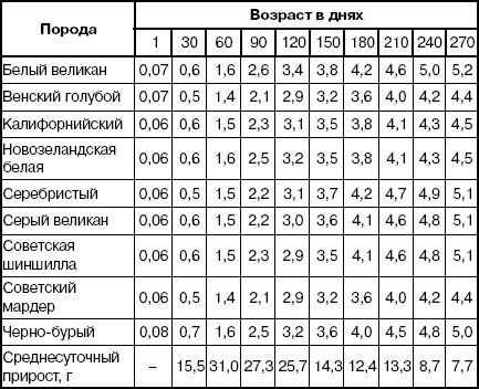 Рост и развитие крольчат Cjvmlz10