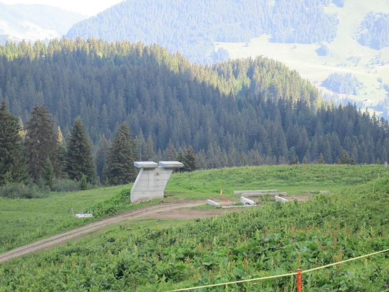 """Construction de télésièges dans le domaine """"Diablerets-Villars-Gryon (Suisse)"""" Img_1629"""