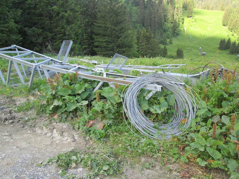 """Construction de télésièges dans le domaine """"Diablerets-Villars-Gryon (Suisse)"""" Img_1634"""