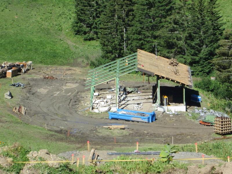 """Construction de télésièges dans le domaine """"Diablerets-Villars-Gryon (Suisse)"""" Img_1712"""