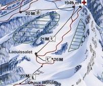 """Construction de télésièges dans le domaine """"Diablerets-Villars-Gryon (Suisse)"""" Vd10"""