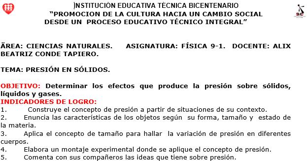 Act. Presion en solidos 110