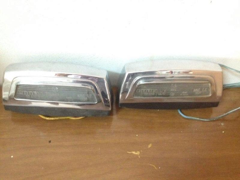 Vendo luci targa tipo hf montecarlo 240 euro 13077210