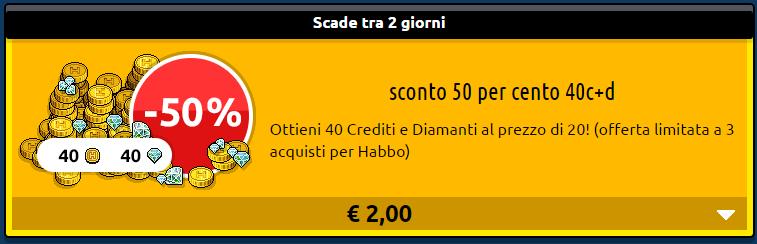[ALL] Marzo 2017: Offerte Habbo Crediti doppi disponibili! -hlfo159