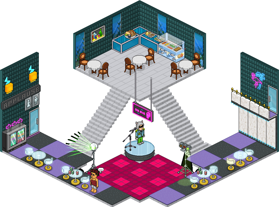 [ALL] Affare Stanza Karaoke Bar inserito in catalogo su Habbo! -hlfo54