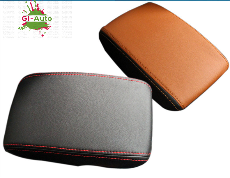 Armrest red stitching covers  For-su10