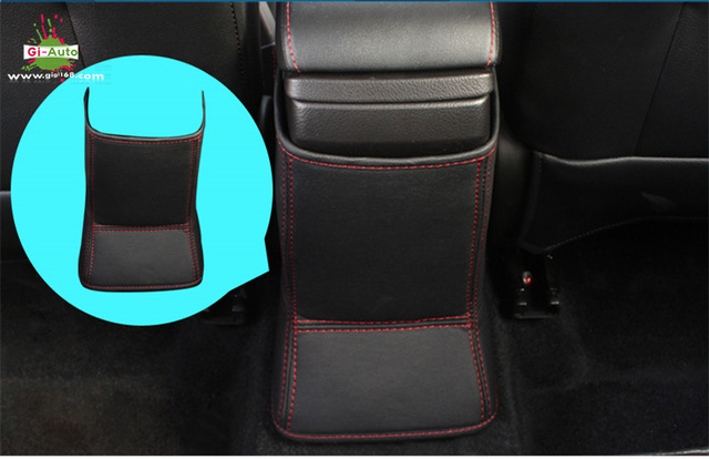 Armrest red stitching covers  New-ar10