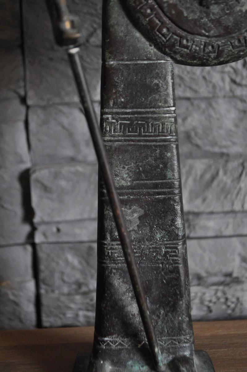 Stastuette athéna en bronze Dsc_0042