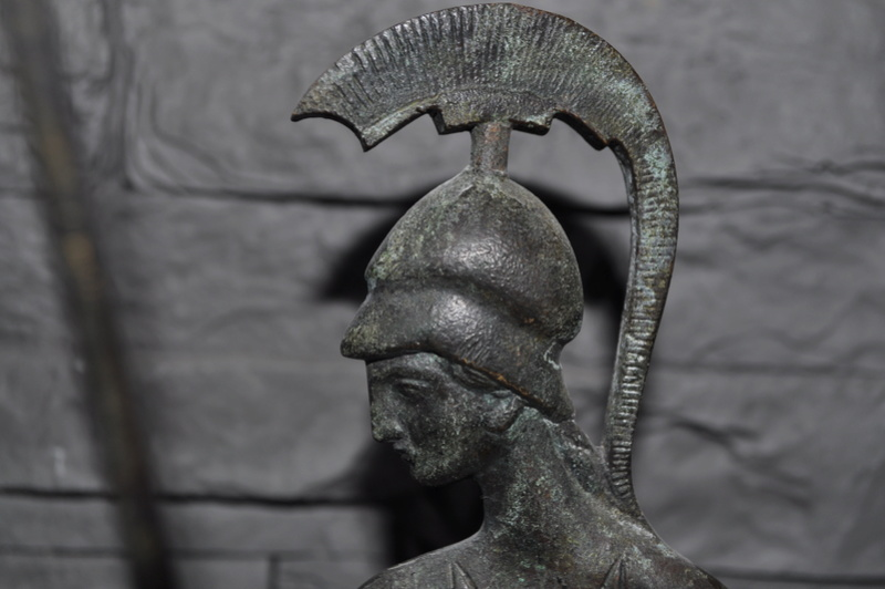Stastuette athéna en bronze Dsc_0044