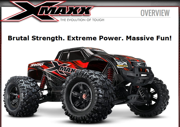 [NEW] X-Maxx rouge avec pièces anodisées rouge Rouge10