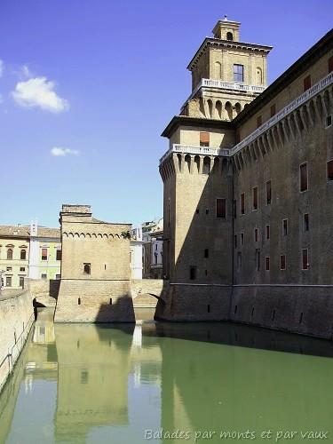 Le château d'Este à Ferrare (Italie) 1_ferr10