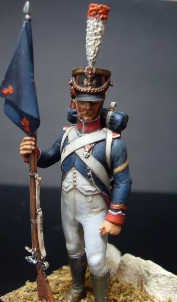 Sergent porte fanion des tirailleurs grenadiers de la garde Sergen10