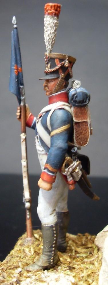 Sergent porte fanion des tirailleurs grenadiers de la garde Sergen12