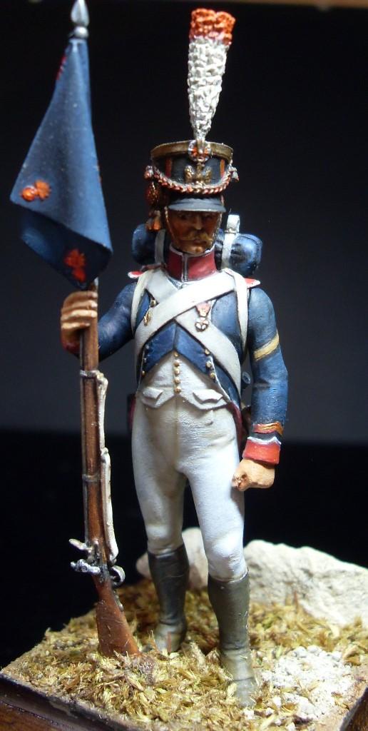Sergent porte fanion des tirailleurs grenadiers de la garde Sergen14