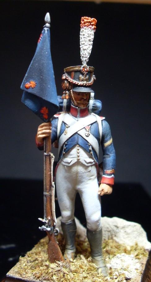 Sergent porte fanion des tirailleurs grenadiers de la garde Sergen16