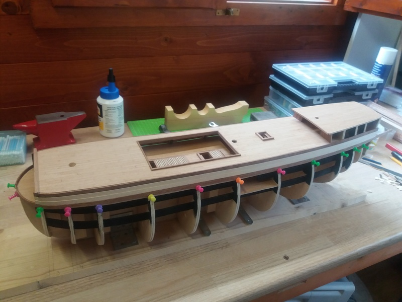 Le HMS Victory de Constructo au 1/94  - Page 2 20160710
