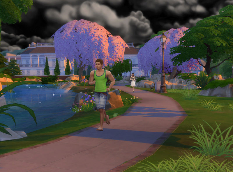 Brandon et Autumn - Le Rosebud Challenge 06-08-73