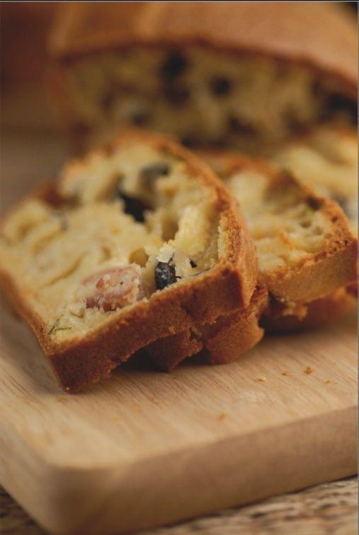 Cake jambon sec et Charolais :   une recette mensuelle des AOP laitières 2bis10