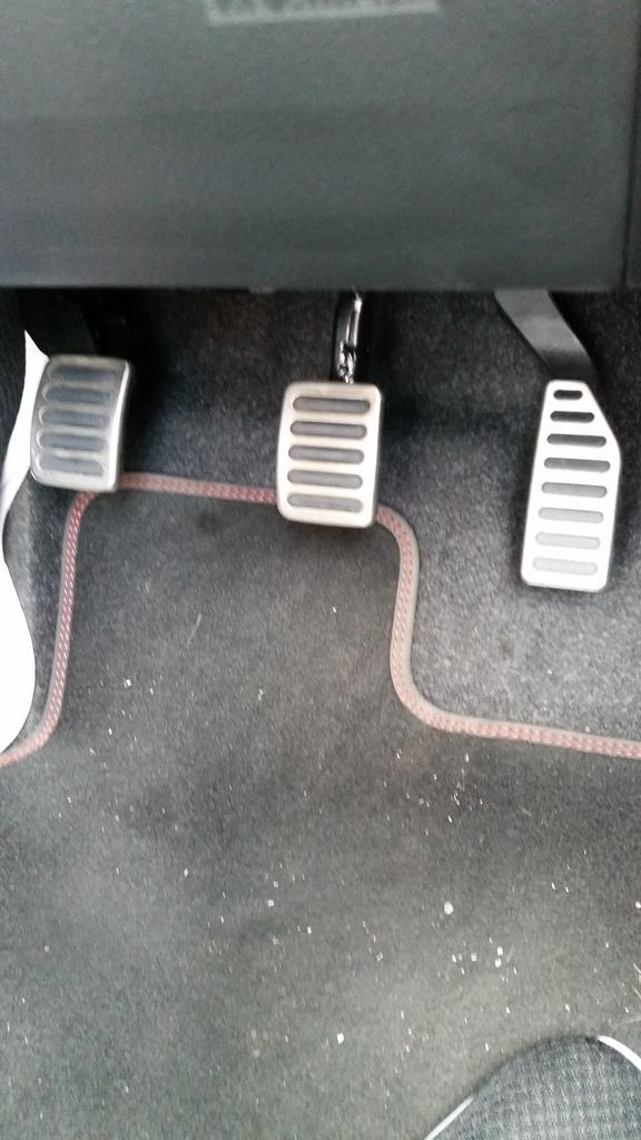 Aluminium Pedal Cover Pads 20160610